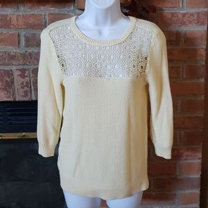 NY Collection Yellow Sweater